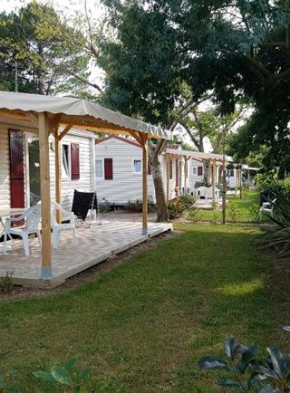 mobil home jardin